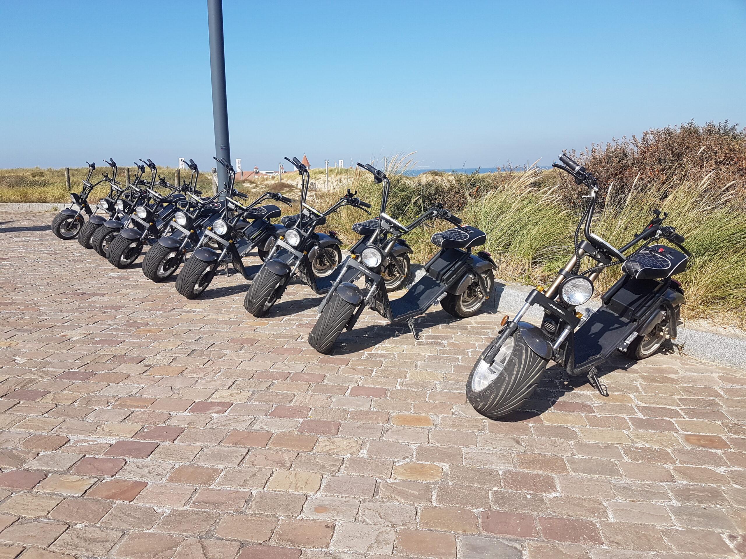 e-scooter huren Noordwijk Duin- en bollenstreek