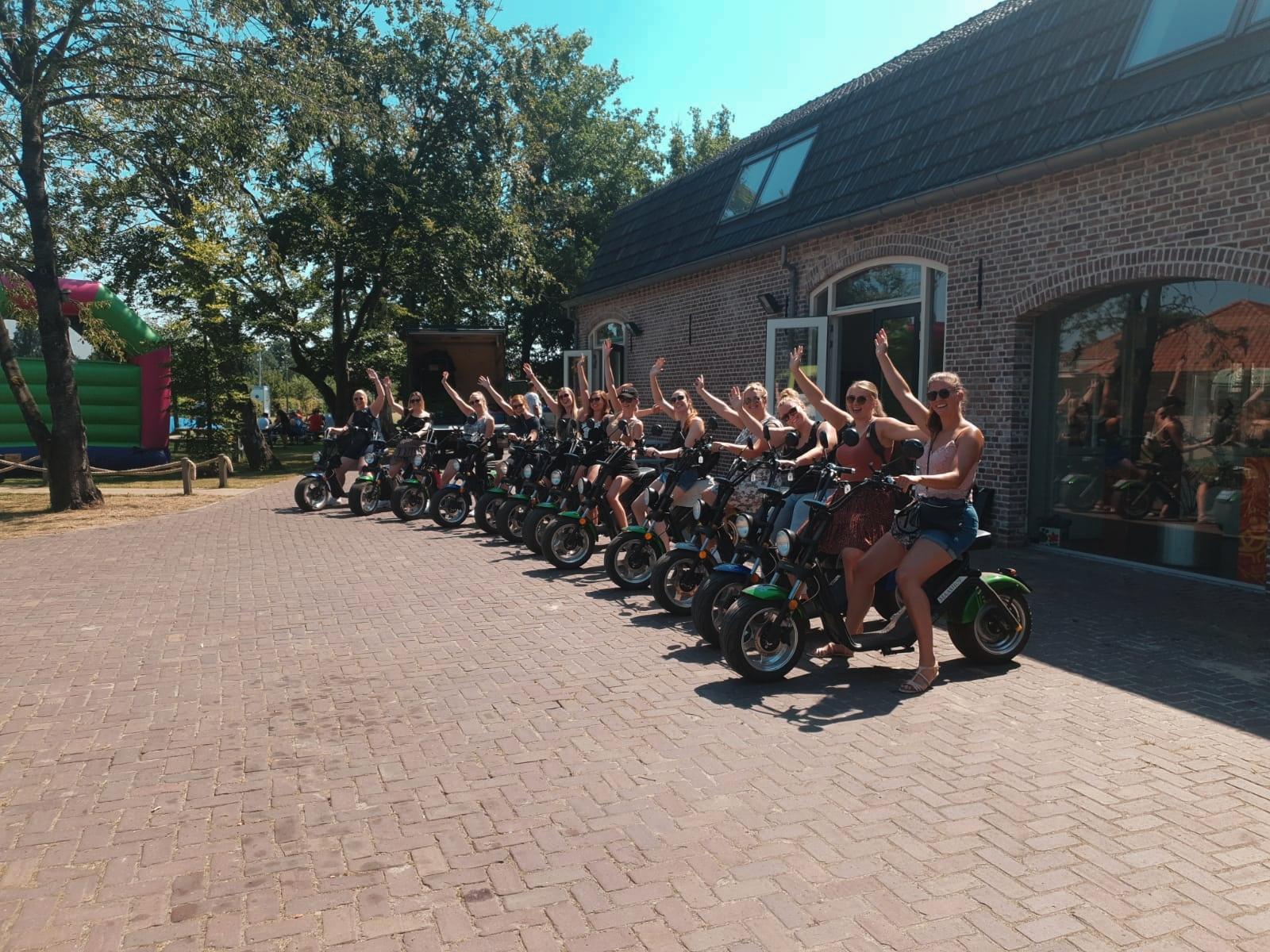 Bedrijfsuitje met e-chopper of e-scooter tour