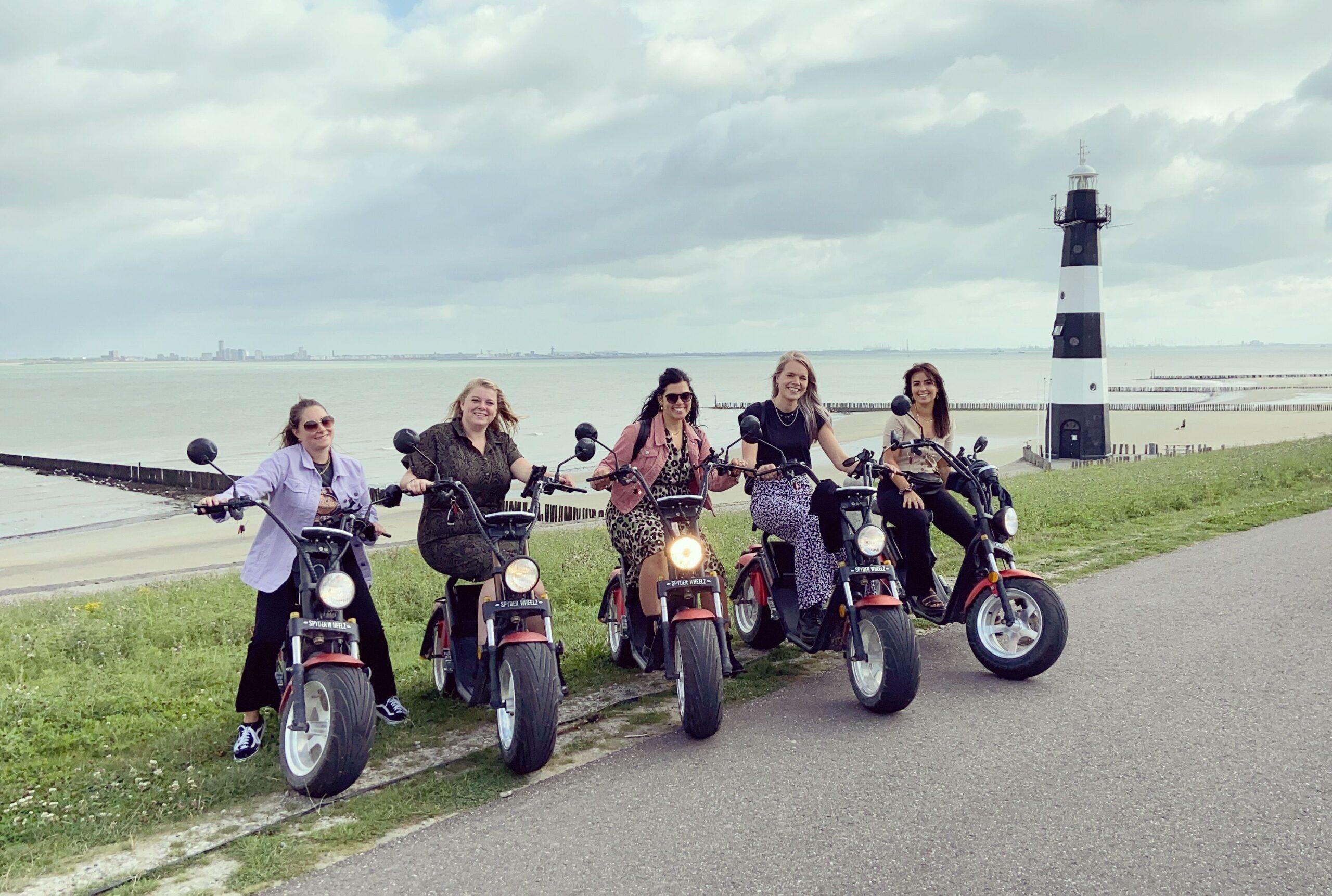 e scooter huren Noordwijk